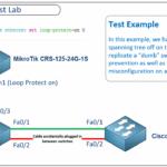 Loop Protect — защиты от петель на Микротике