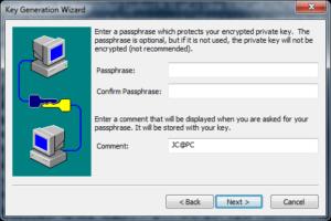 SecureCRT кодовая фраза
