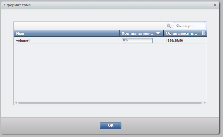 IBM Storwize v3700 форматирование