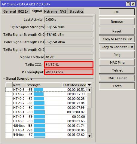 mikrotik btest server signal
