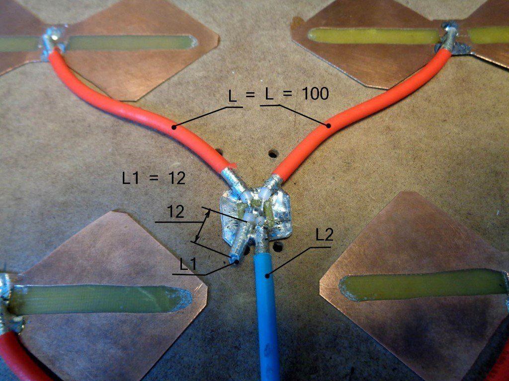 Сложение двух вибраторов