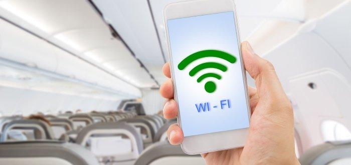 Подключиться к интернету в полёте