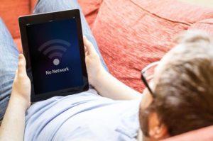 ipad не подключается к wifi