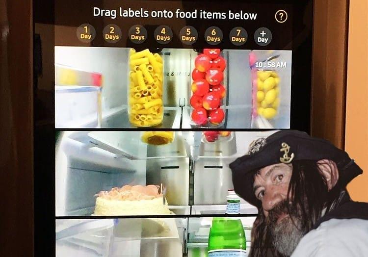 вай фай в холодильнике заставка