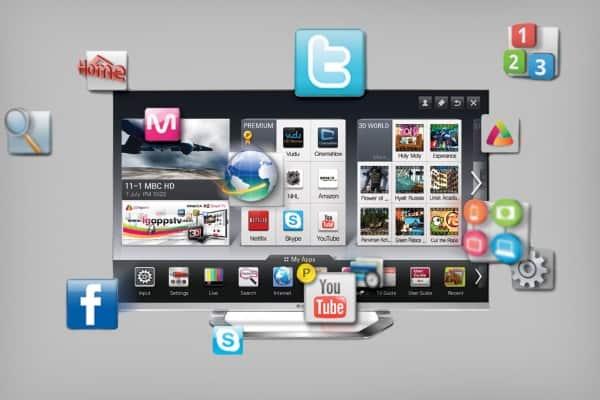Подключение телевизора к интернету через адаптер
