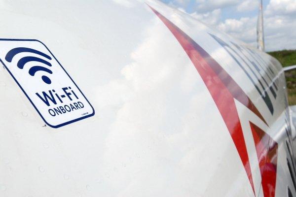 Авиакомпания с Wi-Fi