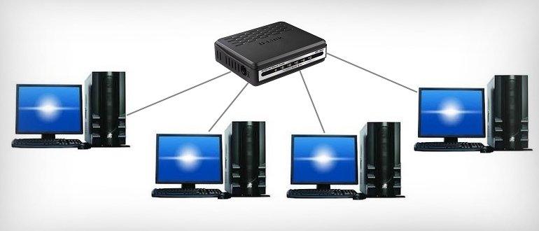 Создание беспроводной локальной сети через Wi-Fi роутер