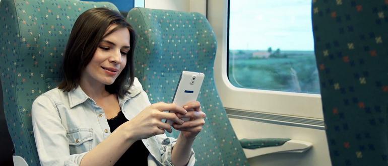 Wi-Fi в поездах РЖД