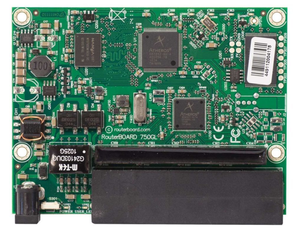 hex-lite_RB750r2_board