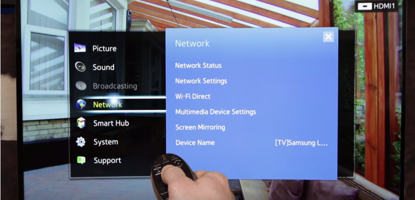 samsung tv wifi